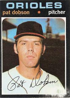 Vintage Fridays: Pat Dobson, 1971 Topps #547