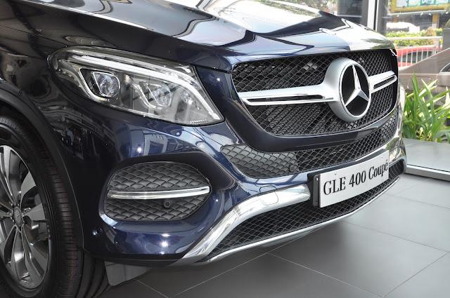 Mercedes GLE 400 4MATIC Coupe luôn có sức hấp dẫn đặc biệt