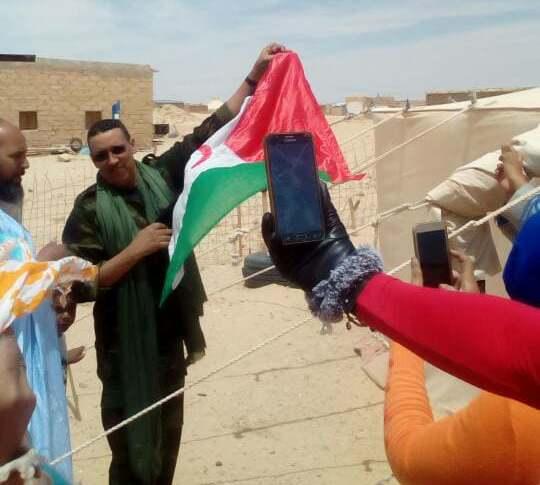 المقاتل محمد حسنة عبد الوهاب يفند دعاية الاحتلال المغربي