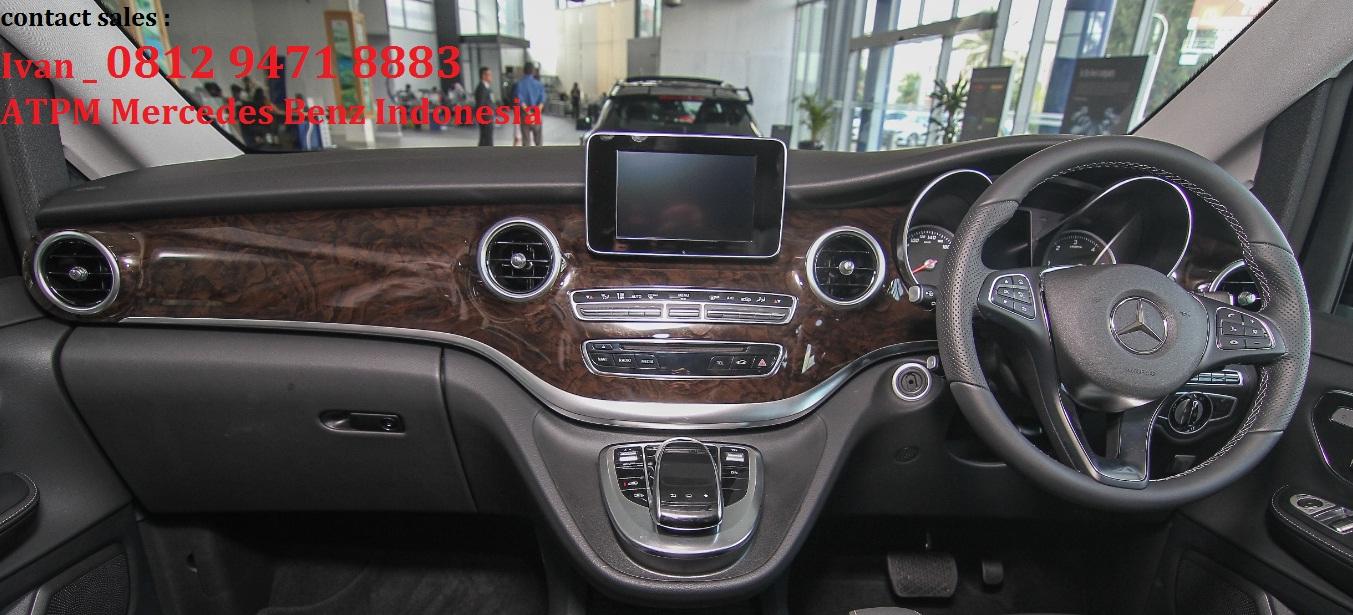 Promo new mercedes benz v class v220d atpm jakarta for Mercedes benz service a coupons 2017