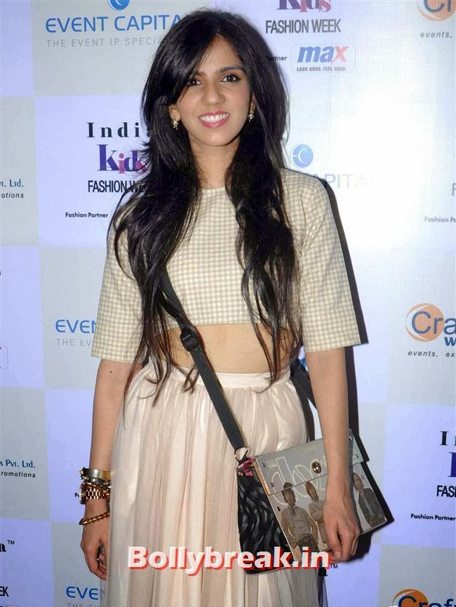 Nishka Lulla, Celebs at India Kids Fashion Week 2014