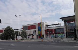 Un fin de semana en Győr: centro comercial