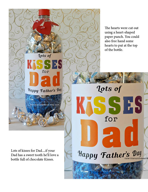 Christmas Gift Ideas 2017 For Father : It s written on the wall fathers day gift ideas for