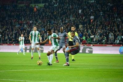 Samuel Eto'o passeur et Konyaspor fait match nul contre Besiktas (Vidéo)