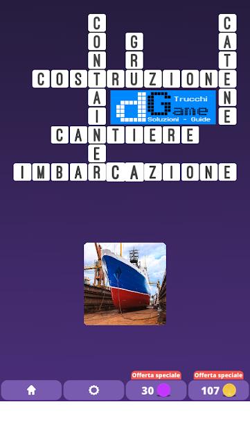 Soluzioni One Clue Crossword livello 24 schemi 7 (Cruciverba illustrato)    Parole e foto