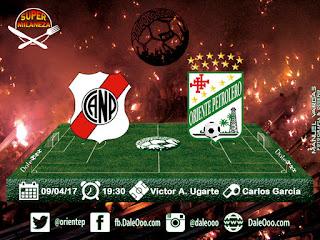 Nacional Potosí vs Oriente Petrolero - Fecha 10 Apertura 2017 - Super Milaneza - DaleOoo Página Oficial Club Oriente Petrolero