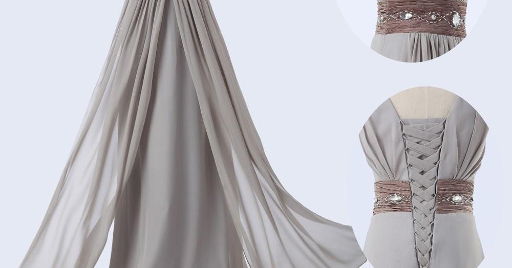 Tampil Cantik Dengan Model Baju Long Dress Pesta