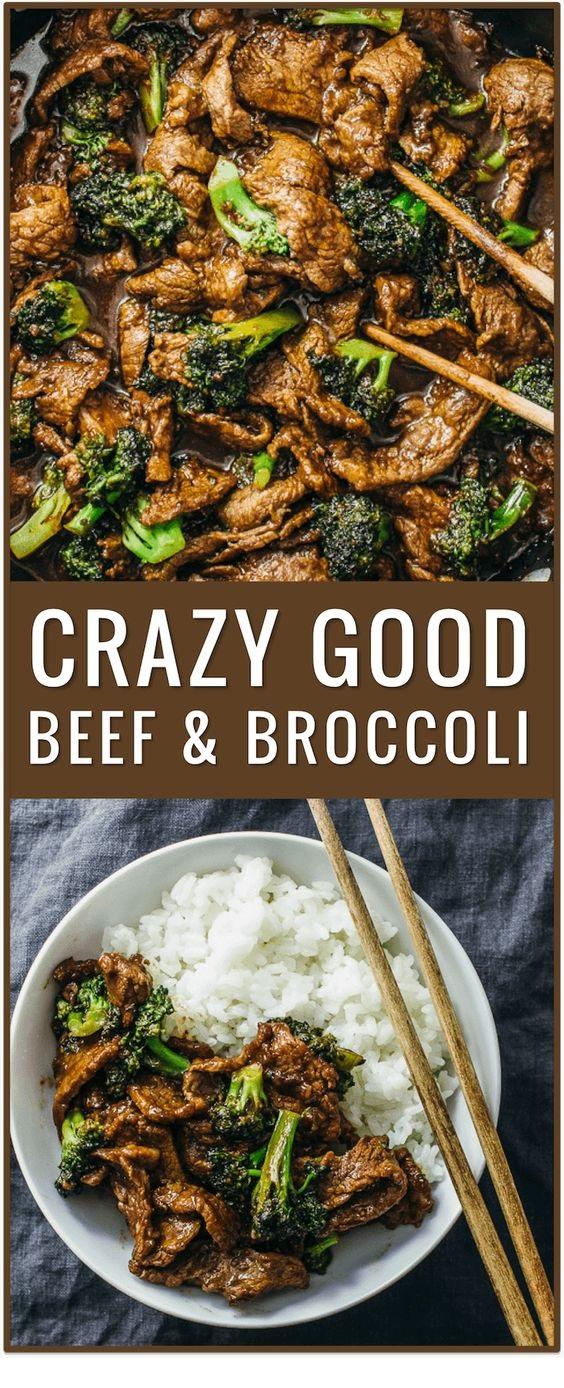 Crazy Good Beef And Broccoli