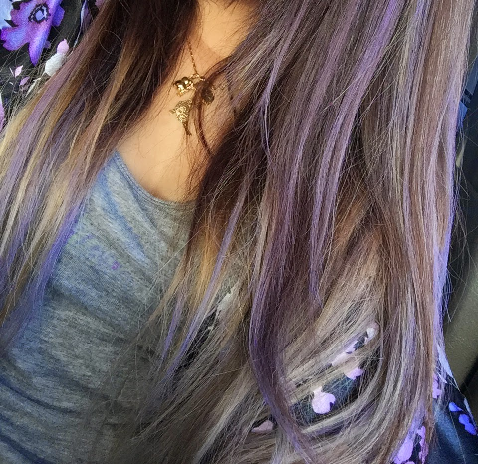 Temporary color fun without the bleach beautybyjuliannemng all in all i think that this is a really fun way to change up your hair color without the commitment its totally safe and easy to do yourself solutioingenieria Gallery