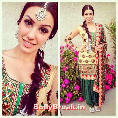 Punjabi Jatti Girl in phulkari suit, Punjabi Jatti Girl Pics in Punjabi Suit