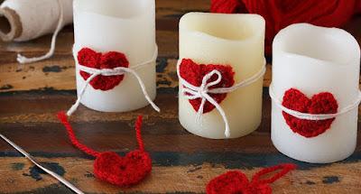 Las velas son el complemento más asociado al romaticismo.
