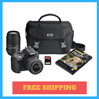 nikon-d5300-bundle-two-lenses-and-bag-free-shipping