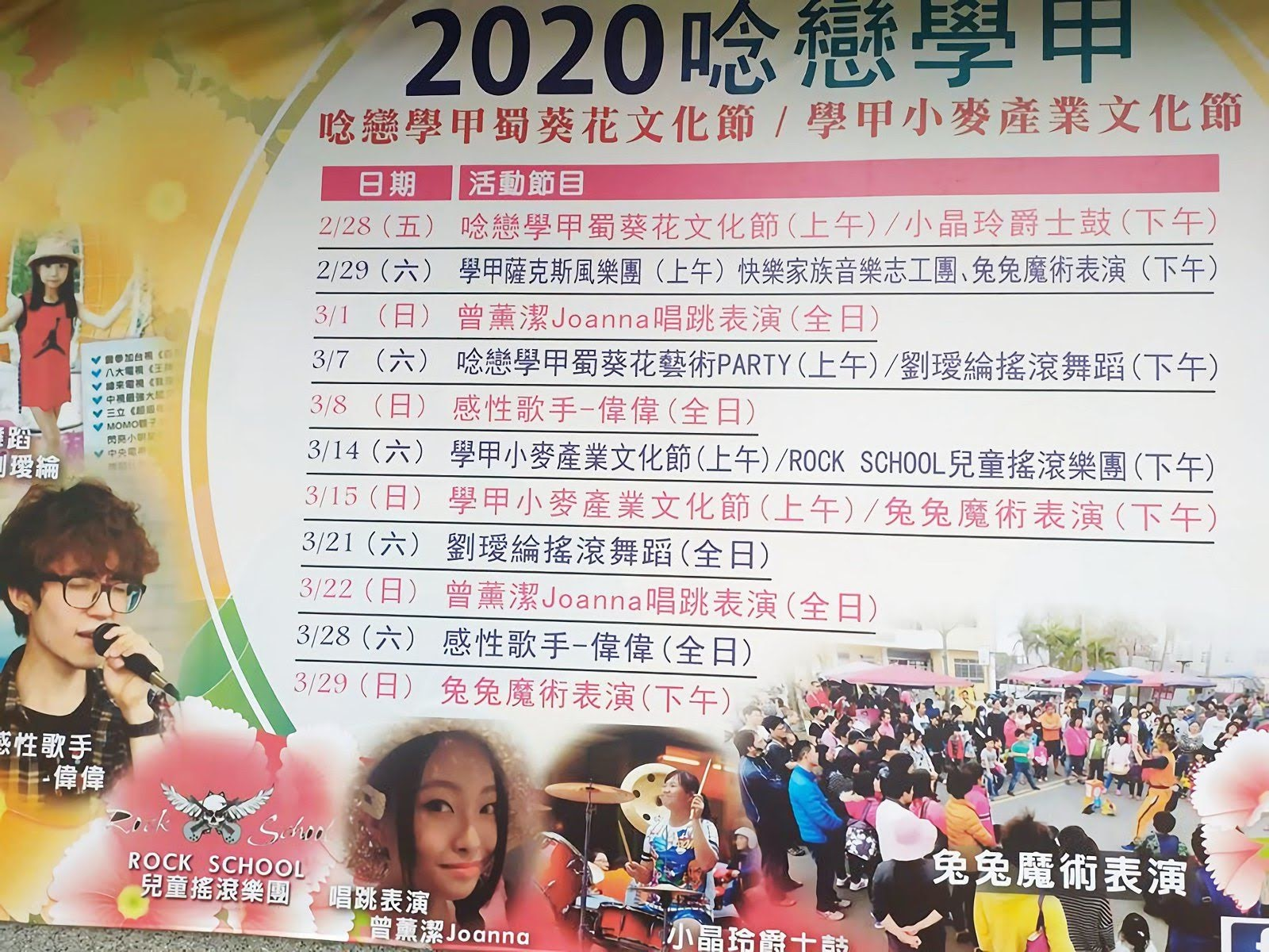 [活動] 2020唸戀學甲蜀葵花文化節|2/28光華里「蜀葵花海」登場