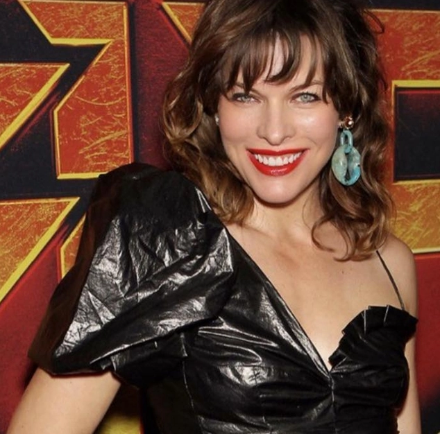 It is hard to believe that Jovovich is in her 40s, something she admits freely and is really happy about.