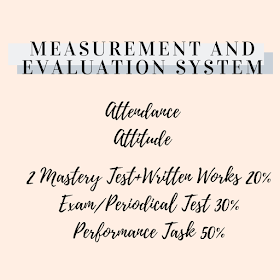Measurement and Evaluation System