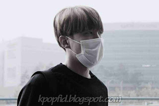 Foto Keren J-Hope BTS Pakai Masker