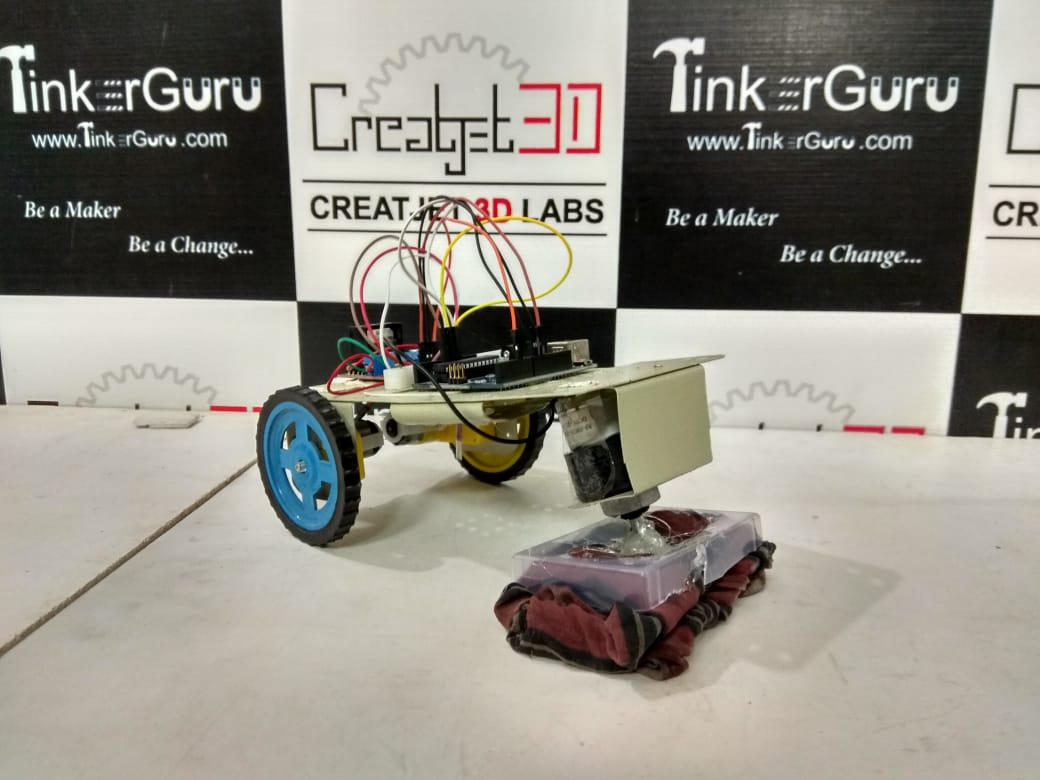 Automatic Floor Cleaner Project