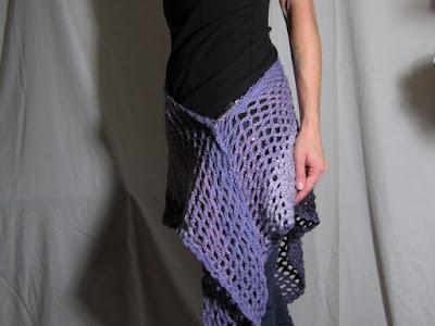 free crochet pattern, Angel Cakes Shawl, shawl, Caron Cakes