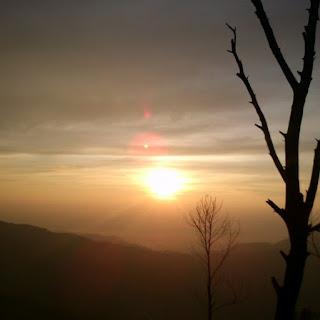 Sunrise di Bukit Sekunir