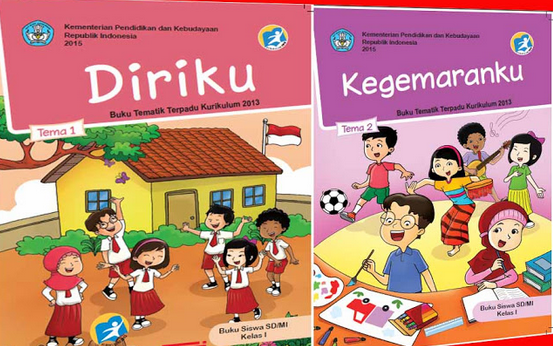 Buku Kurikulum 2013 Kelas 1 SD/MI Semester 1 Edisi Revisi Tahun 2016