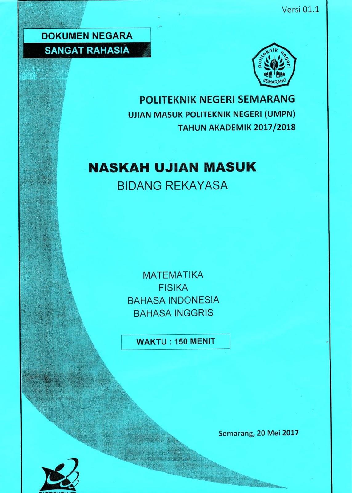 Akun resmi politeknik negeri medan. Download Buku Soal Umpn Polmed
