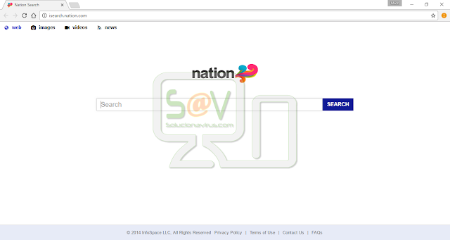 Isearch.nation.com (Nation Search) - Hijacker