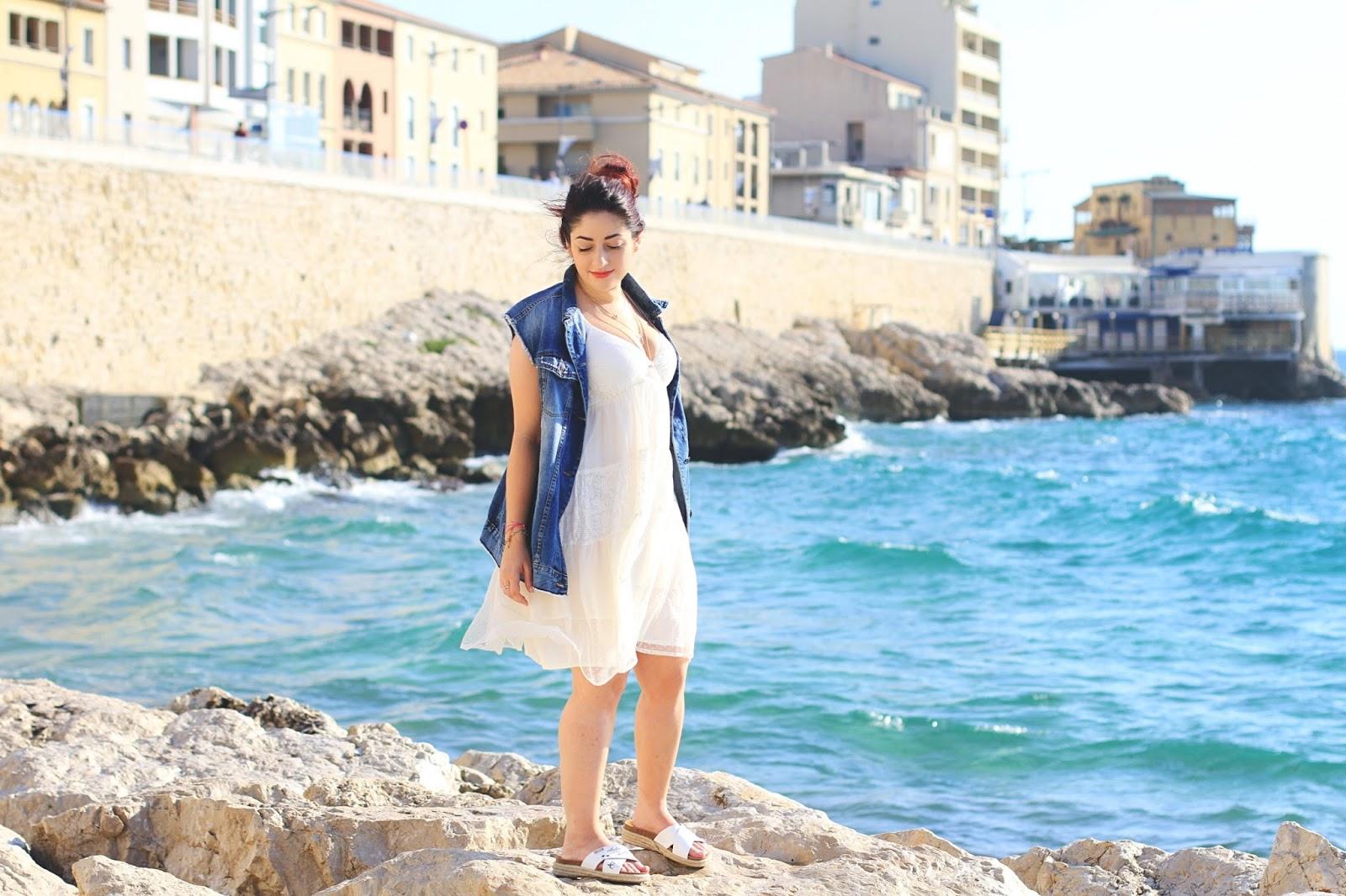 robe blanche kaporal