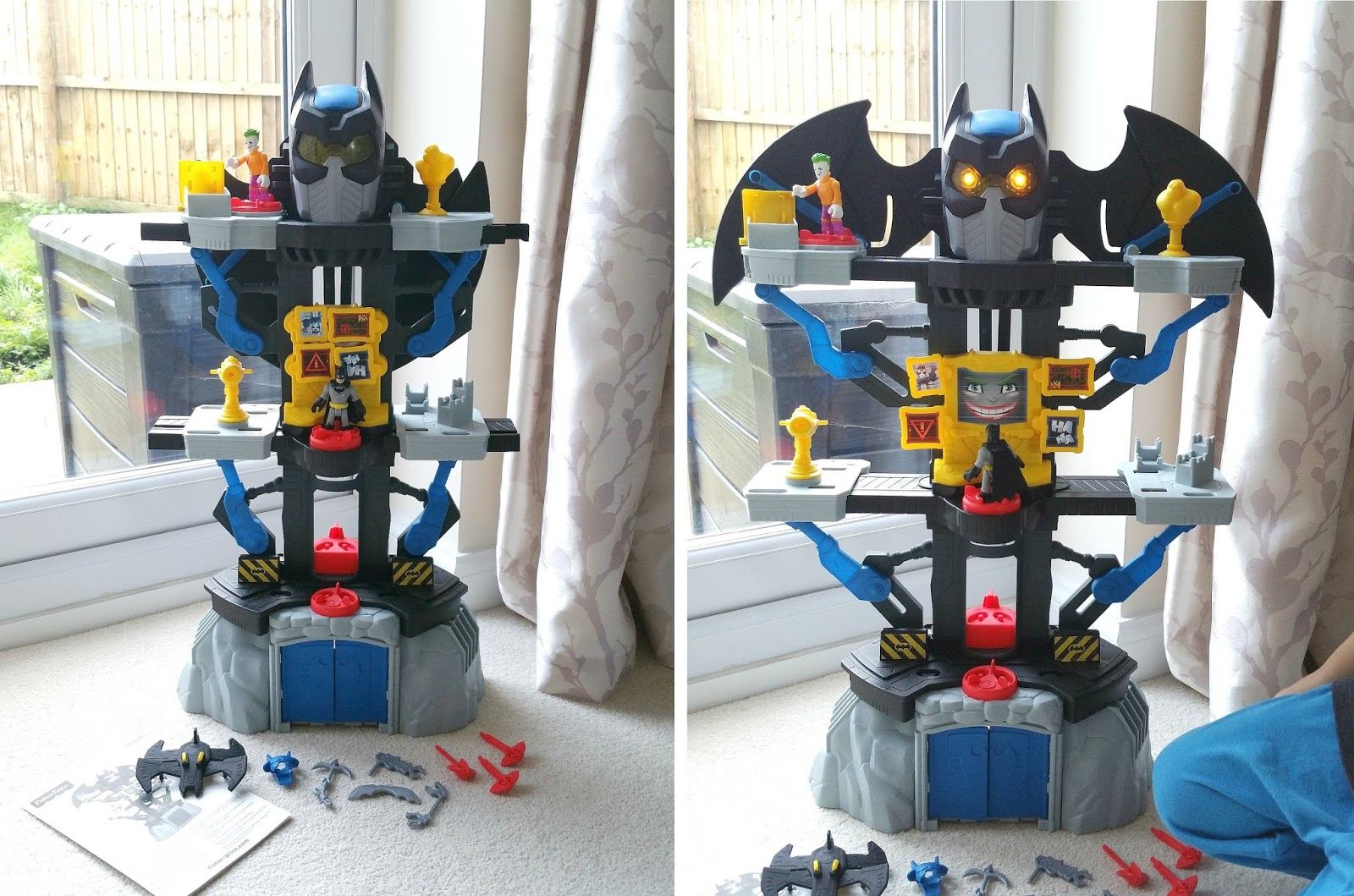 Christmas Batman gift, imaginext Transforming Batcave, Batman toy