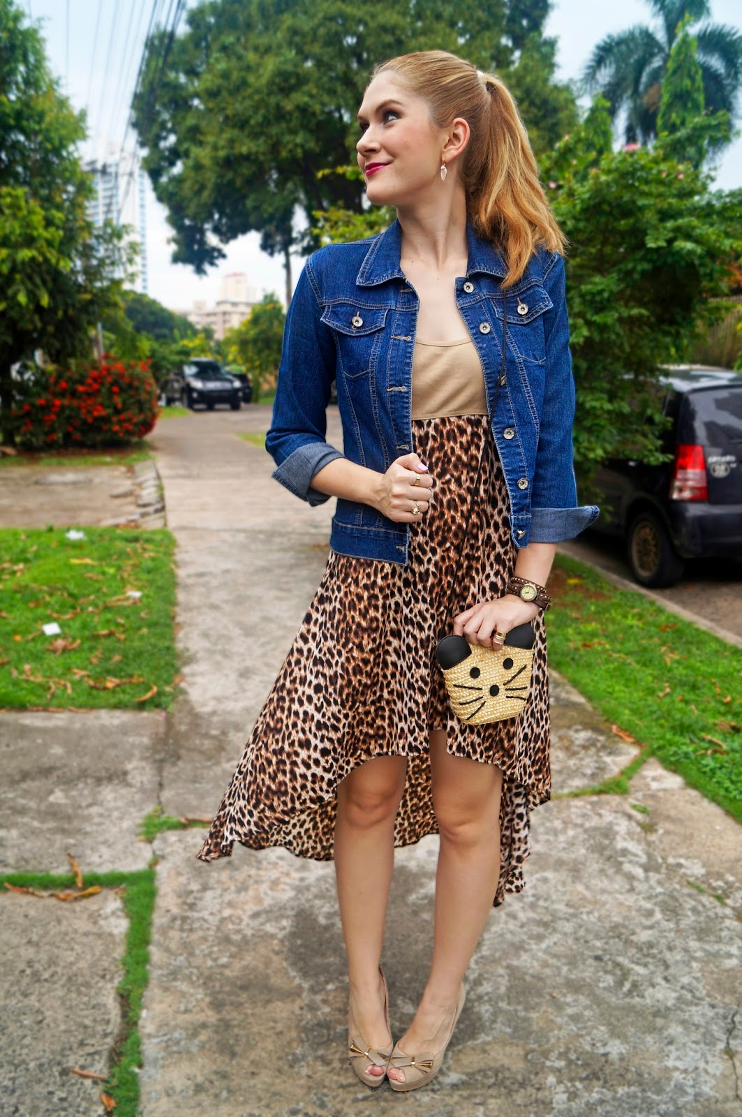 Leopard Dress Outfit