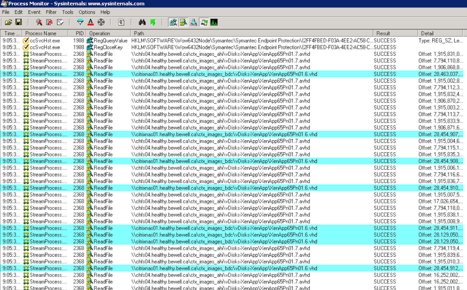 Becareful of your AVHD to VHD chains with Citrix PVS with