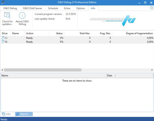 O&O Defrag Profesional + Server Versión Full
