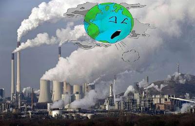 تلوث الهواء من موضوع تعبير عن التلوث بالعناصر