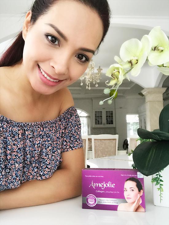 Amejolie Collagen- Viên uống collagen giúp da sáng mịn, tóc và xương khớp chắc khỏe