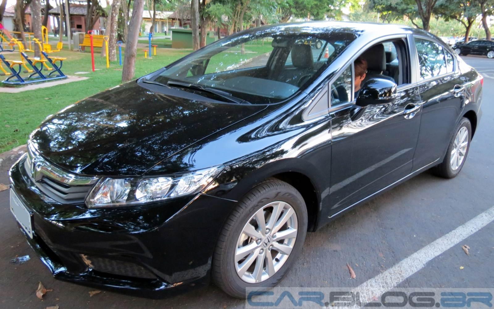 Honda Civic LXS 2012 Manual: preço, consumo, fotos e e especificações