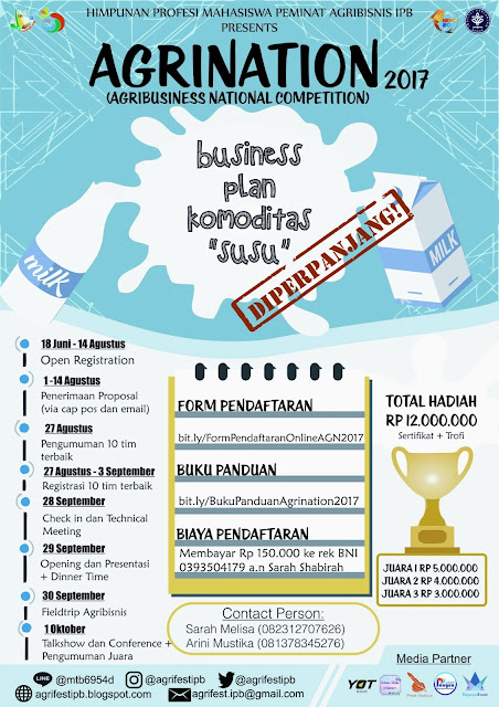 Agrination: Business Plan Competition