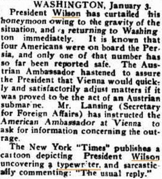 oz.Typewriter: When Australia Ridiculed Woodrow Wilson's