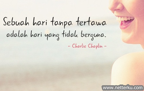 Kata Bijak Charlie Chaplin Ngakak - Netterku.com