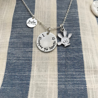 silver Disney necklace