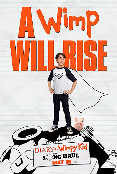 Poster of Diary of a Wimpy Kid The Long Haul 2017 Dual Audio Hindi-Eng 720p BluRay ESubs