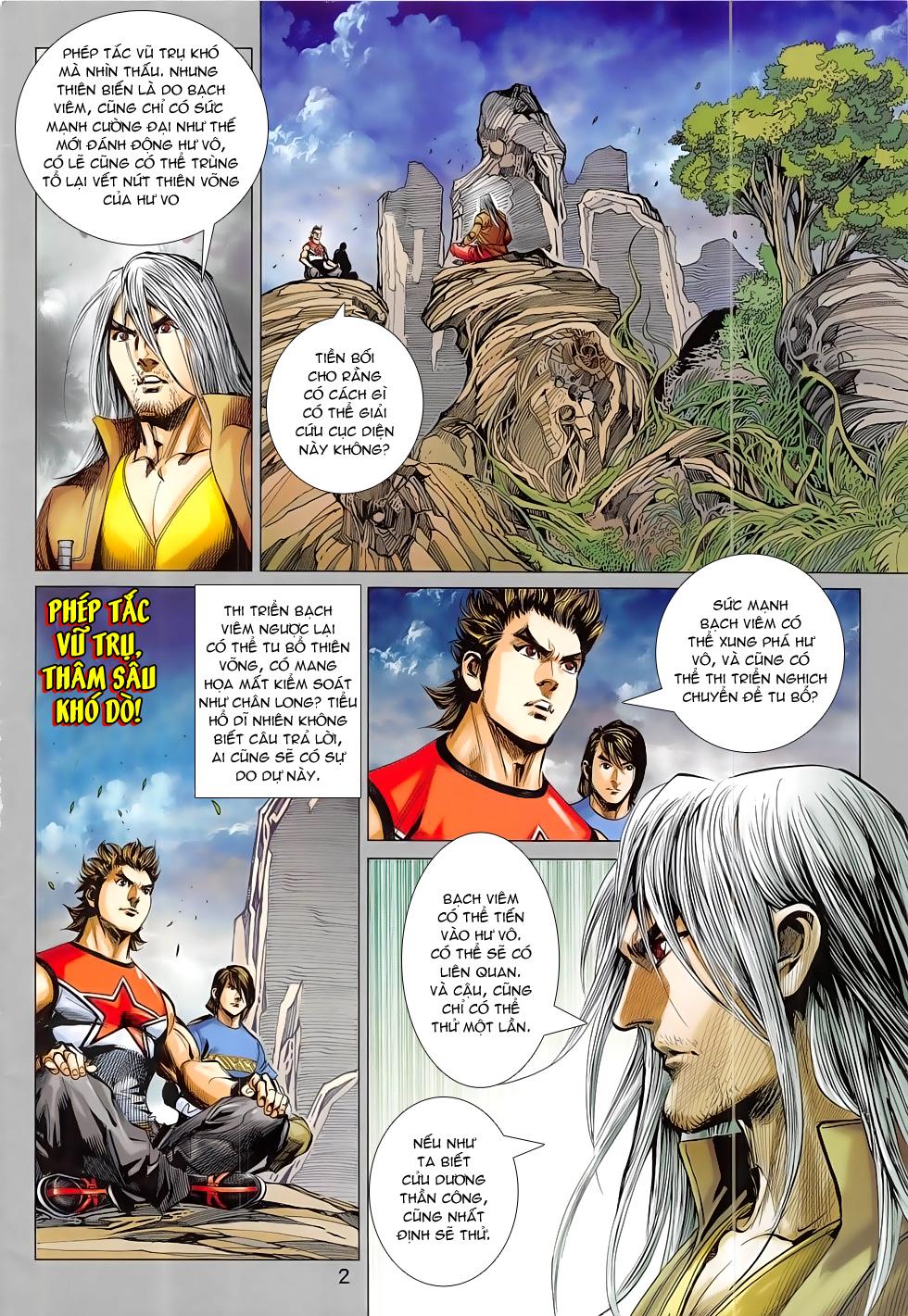 Đông Phương Chân Long chap 64 - Trang 2