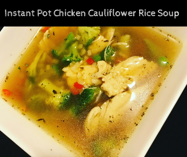 Chicken Soup, Instant Pot, Instapot, Crock Pot, Slow Cooker, Cauliflower Rice, Autumn Calabrese, 21 Day Fix, Tosca Reno, Clean Eating, 80 Day Obsession, Vanessa.fitness, vanessa.fit, vanessa mclaughlin
