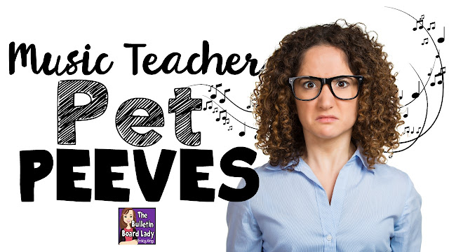 Music Teacher Pet Peeves is a list of relatable situations and conversations that modern music educators find themselves in.  Don't worry music teachers!  You are not alone.