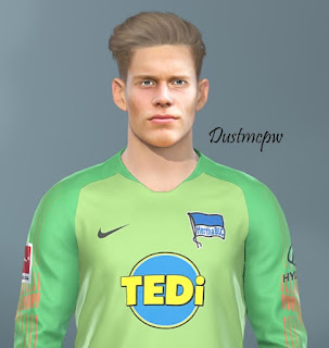 PES 2019 Faces Dennis Smarsch by Dustmcpw