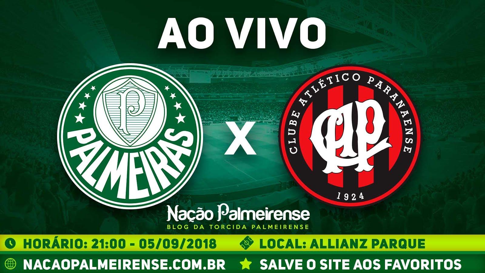 Assistir Palmeiras x Atlético-PR Ao Vivo