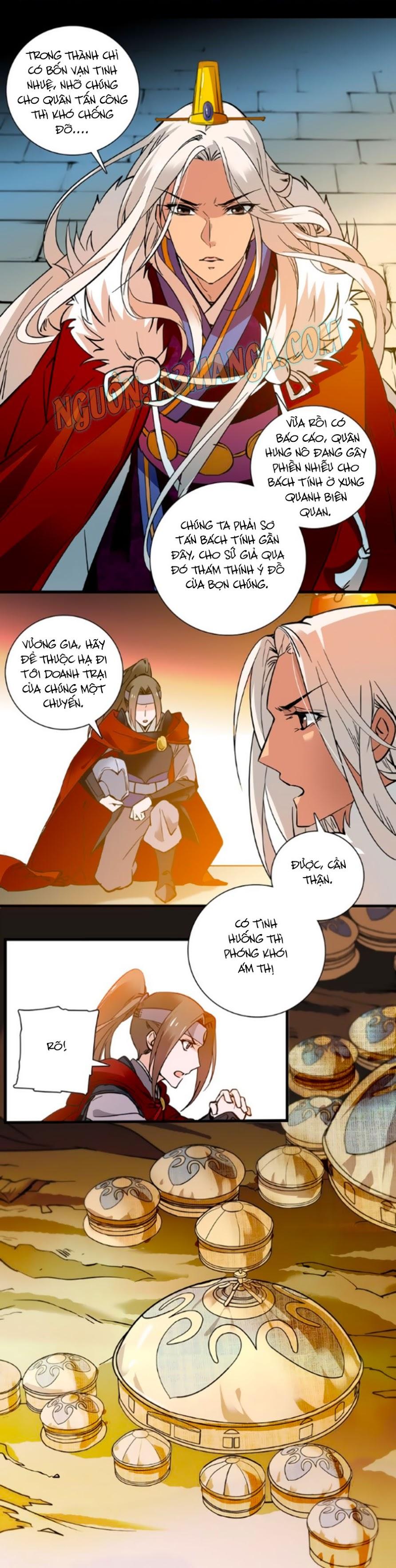 Hoàng Thượng! Hãy Sủng Ái Ta Đi! Chap 37
