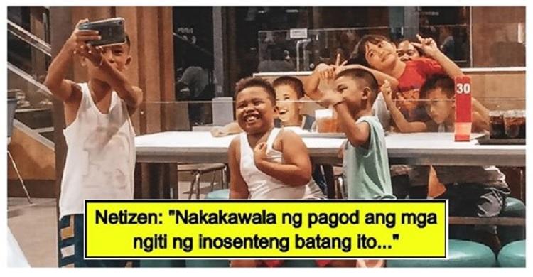 'Groufie' ng mga bata sa isang fast food chain, ikinatuwa ng mga netizens
