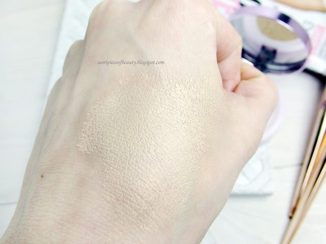 Тональная основа-кушон Nude Magique Cushion Foundation от L'Oreal / блог A Piece of Beauty