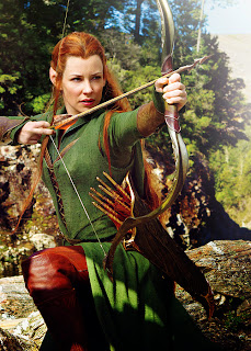sexy Evangeline Lilly hot female elf