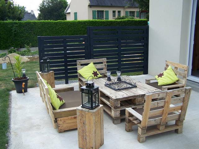 Recyclage De Palettes En Bois - Idée de recyclage de palettes en bois CURIOSITE