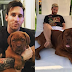 Lionel Messi's dog was just a pup eight months ago